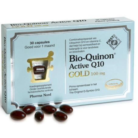 【荷兰DOD】【新晋热销款】Pharma Nord 法尔诺德 Q10辅酶 黄金版100mg高含量 30粒