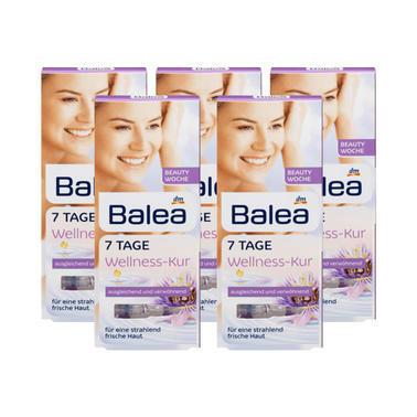 【德国DC药房】Balea 芭乐雅 紫盒涂抹式玻尿酸原液安瓶 5盒7支1ml