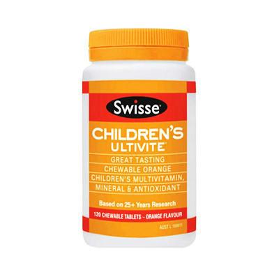 【澳洲RY药房】【限时抄底价】Swisse 儿童专用复合维生素(多矿物质/抗氧化) 120片