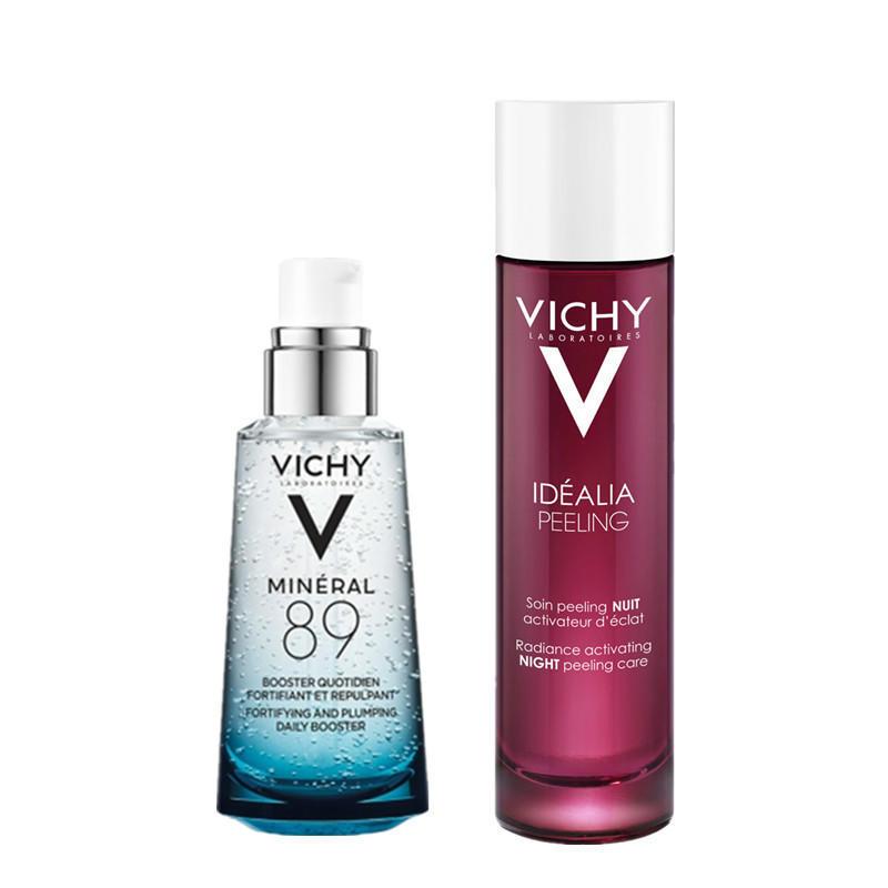 【德国BA】Vichy 薇姿 活泉水玻尿酸89号精华露50ml +水光焕亮角质调理液/魔焕水100ml