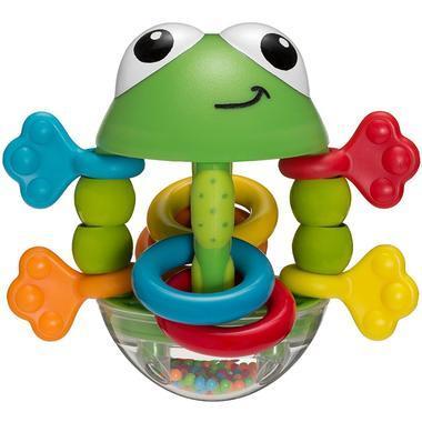 【美国Babyhaven】【满59美元减5美元】Infantino 婴蒂诺 Flip Flop 响铃青蛙拨浪鼓
