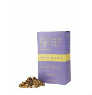 【澳洲CD药房】Mama Body Tea 天然有机草本舒缓晨吐茶 x 35 份