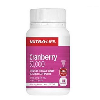 [满89纽免邮]NutraLife 纽乐蔓越莓 50粒 高浓度蔓越莓精华胶囊
