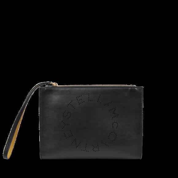 Stella Mccartney Stella Logo 生态仿牛皮手拿包+Prada Cinema Sunglasses 太阳镜