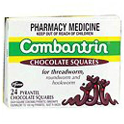 【新西兰PD】【凑单品】Combantrin 儿童驱虫巧克力 24块装 每单限购2件