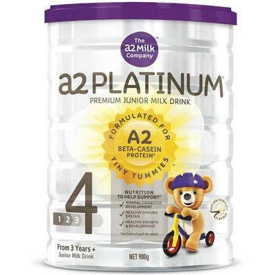 【新西兰PD】【六罐包邮装】A2白金版婴儿配方奶粉 4段900g