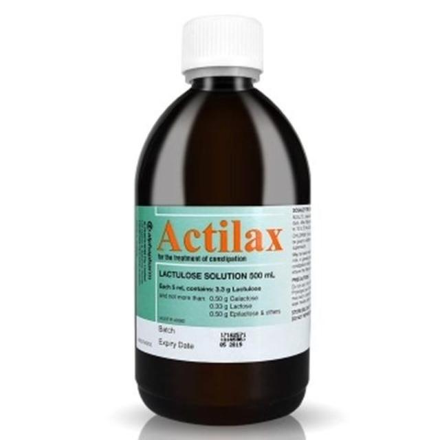 【澳洲Amcal】【限时特价】Actilax 乳果糖排毒通便口服液 500ml(孕产妇可用)