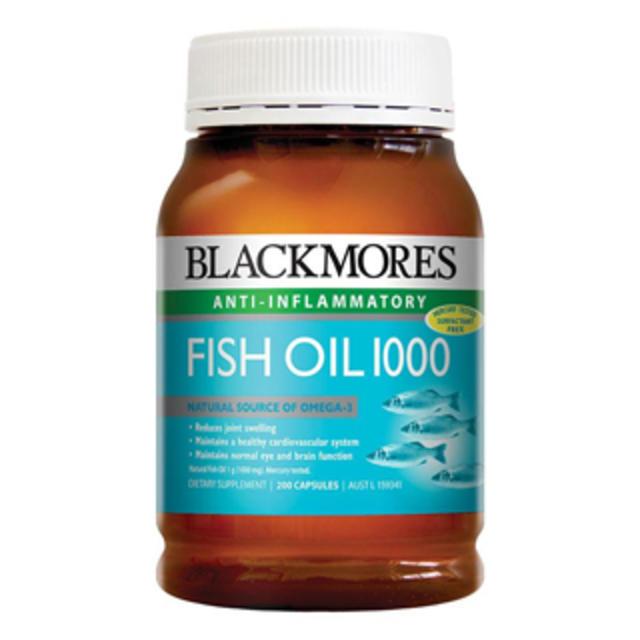 【澳洲Amcal】【限时特价】Blackmores 澳佳宝 1000mg深海鱼油胶囊 400粒