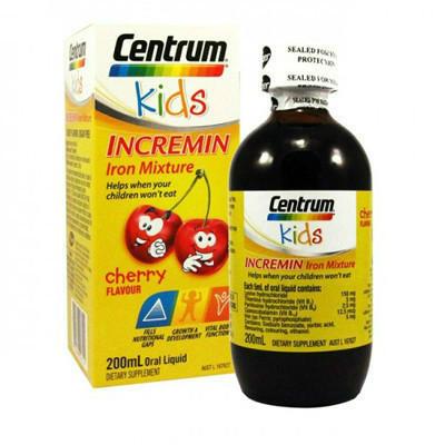 【新西兰PD】【凑单】Centrum 善存 儿童补铁口服液 200ML