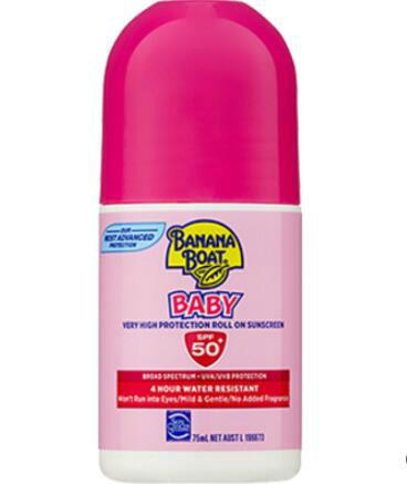 【澳洲PO药房】Banana Boat 香蕉船 婴儿滚珠型防晒霜 75ml