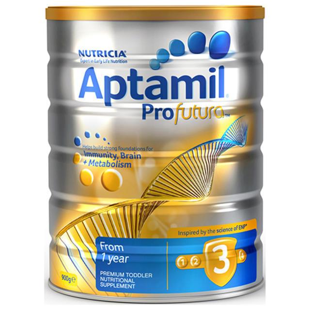 【澳洲Amcal】【限量补货】Aptamil Profutura 爱他美 白金版3段 婴幼儿配方奶粉 900g(可购两罐)