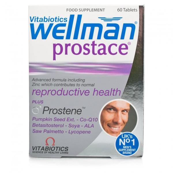 Vitabiotics Wellman 男性前列腺生殖保健营养片 60片