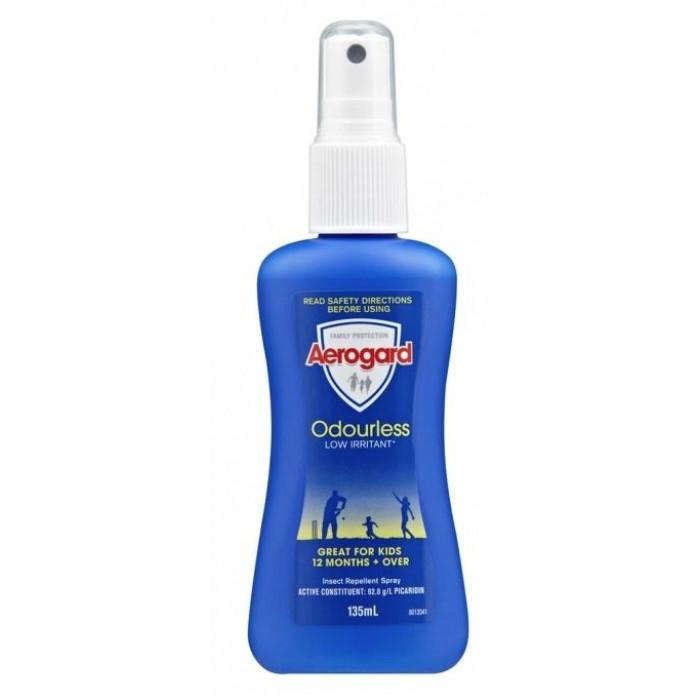 【澳洲RY药房】AEROGARD 低刺激无味防蚊泵式喷雾剂 135ml