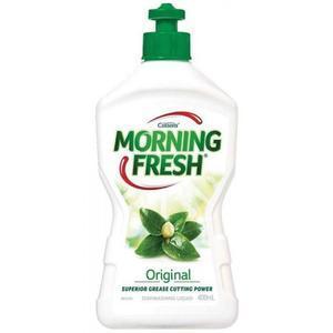 Morning Fresh 超级浓缩多功能餐具水果蔬菜洗洁精(原味型)400ml
