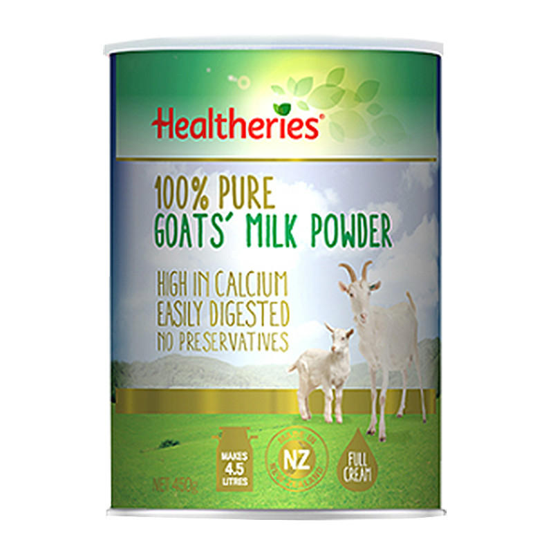 【新西兰PD】【凑单品】Healtheries 贺寿利 纯羊奶粉 450g