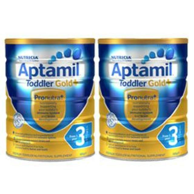 【澳洲Amcal】【3罐特惠包邮装】Aptamil 爱他美金装奶粉3段 900gx3