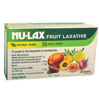 【澳洲CD药房】Nu-Lax 乐康膏 天然养颜纤维果蔬泥 250g