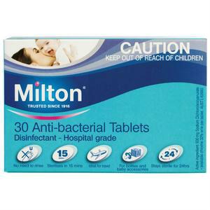 Milton 婴幼儿餐具消毒泡腾 30片