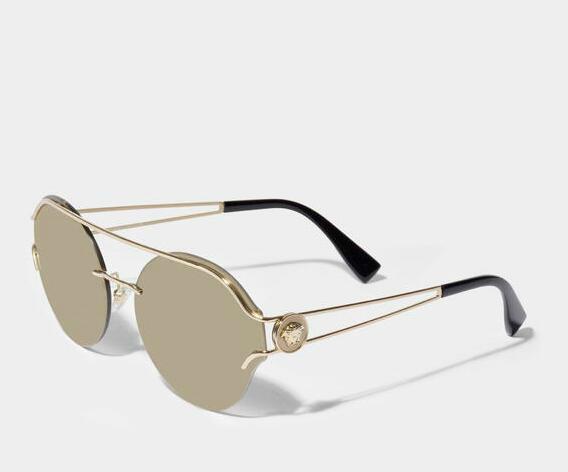 Versace V-Powerful 太阳镜 +Manu Atelier Bold植物鞣质 小牛皮女士包袋