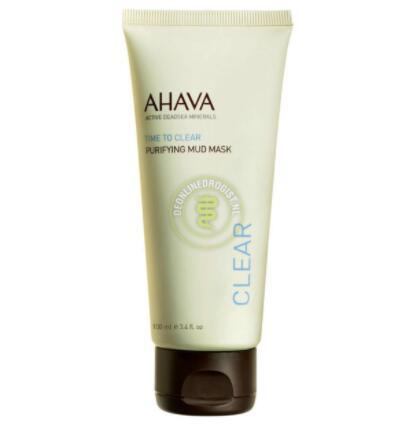 【荷兰DOD】Ahava 死海泥清洁面膜 100ml 2分钟深层清洁毛孔 角质泥状面膜