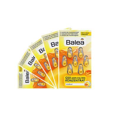 【海豚村】【5件包邮装】Balea 芭乐雅 Q10提拉紧致抗皱精华胶囊 5x7粒/盒