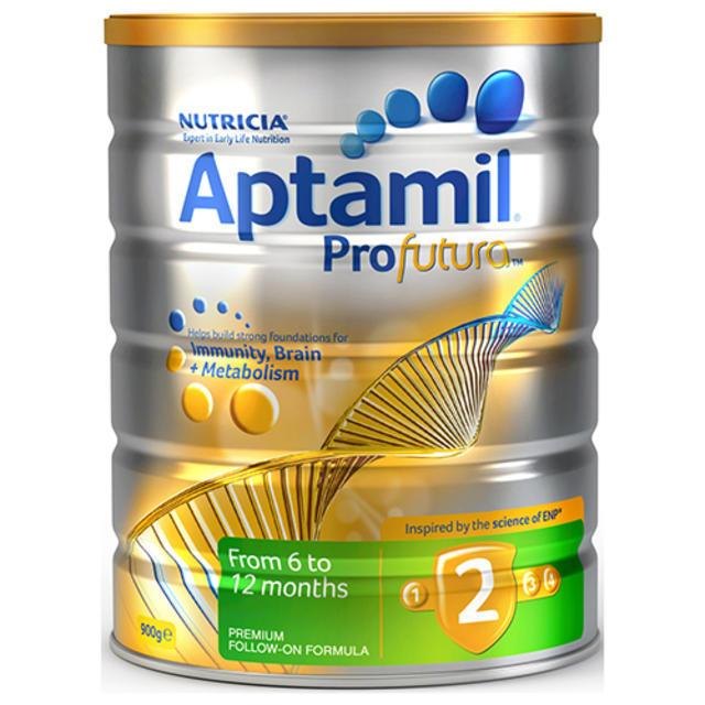 【澳洲Amcal】Aptamil 爱他美 Profutura 白金版2段婴幼儿配方奶粉 900g(可购两罐)