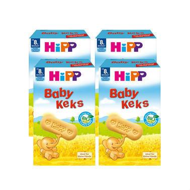 【德国DC药房】Hipp 喜宝 婴儿磨牙饼干 8个月及以上宝宝适用 150g  4盒