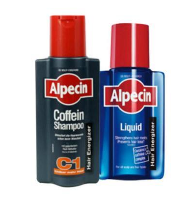 【荷兰DOD】Alpecin 阿佩辛 咖啡因C1防脱发洗发水 250ml+Alpecin 阿佩辛 咖啡因防脱增发营养液 200ml