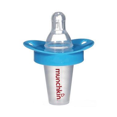 【美国Babyhaven】【满59减3】Munchkin 麦肯奇 婴幼儿奶嘴式防呛喂药器 带刻度 蓝色
