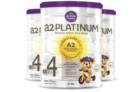 【3件包邮装】A2 白金系列 婴幼儿配方奶粉 4段 3*900g/罐
