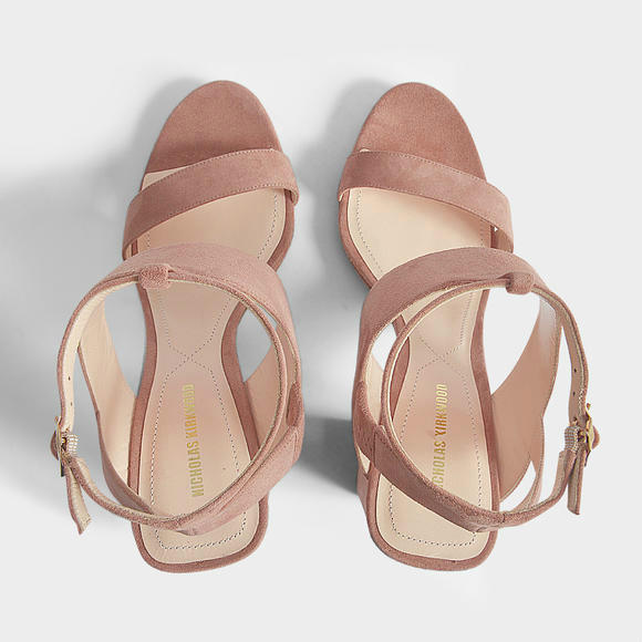 Nicholas Kirkwood EVA 90mm女式凉鞋+Kenzo Kalifornia迷你托特