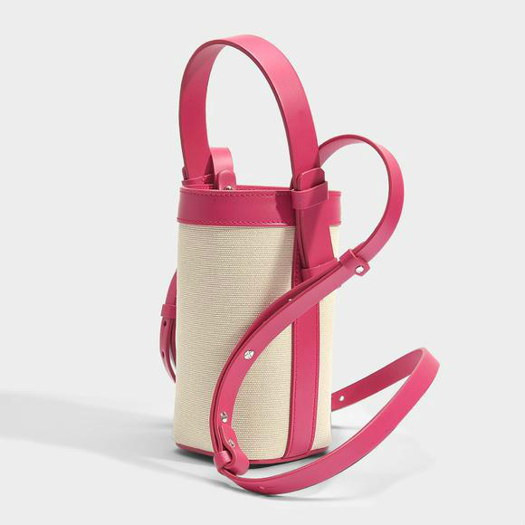 NICO GIANI ADENIA VERTICAL BUCKET BAG+Lancel Lola 驼色粒面皮革小号肩挎包