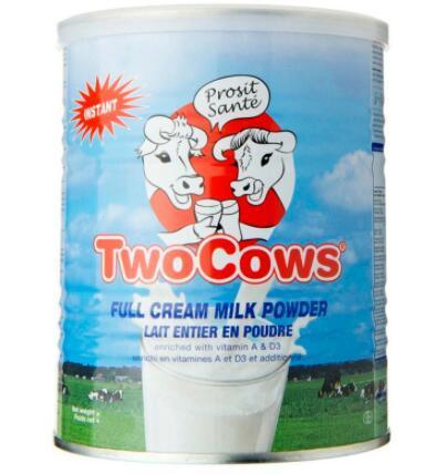 【荷兰DOD】Two Cows 淘高斯 全脂高钙奶粉 罐装(3岁及以上成人适用) 900g