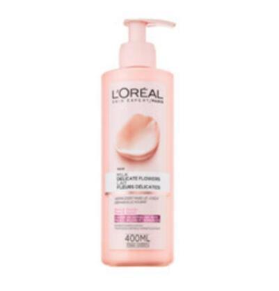 【荷兰DOD】L&#039Oreal Paris 巴黎欧莱雅 玫瑰茉莉卸妆乳 (干性及敏感性肌肤) 400ml
