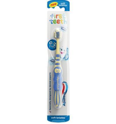 【荷兰DOD】Aquafresh 0-2岁宝宝乳牙清洁牙刷 1支