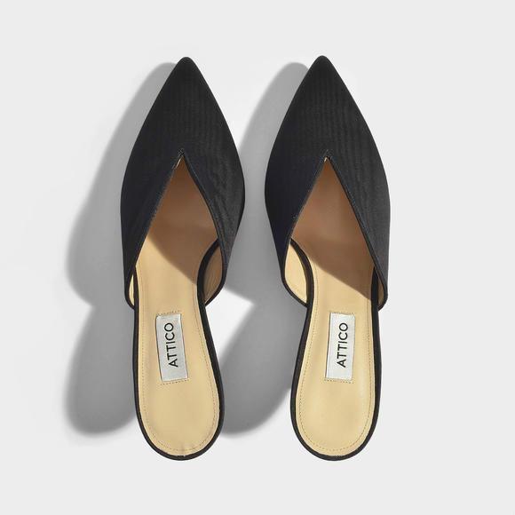 ATTICO Cara中高跟女鞋 +J.W. Anderson Logo Purse 经典链条包