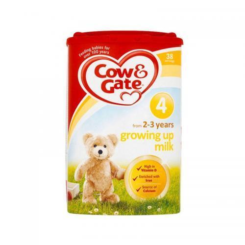 保税仓Cow&ampamp 英国牛栏婴幼儿奶粉4段(2~3岁)800g 包邮包税