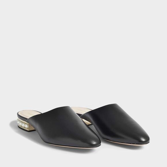 Nicholas Kirkwood CASATI 18mm 珍珠饰女式拖鞋+Acne Studios Howard 太阳镜
