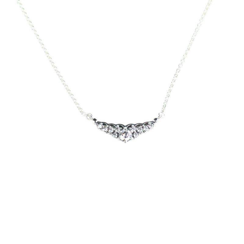 【德国BA】【单件包邮】PANDORA 潘多拉童话之冕925银项链 1125px 396227CZ