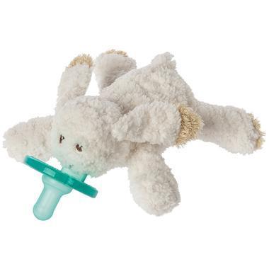 【美国Babyhaven】WubbaNub 燕麦兔布偶安抚奶嘴 玛丽梅耶限量版