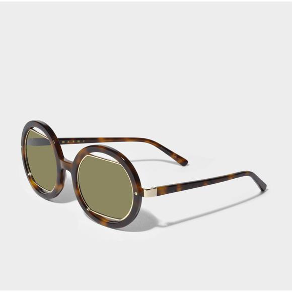 Marni 圆形太阳镜+PETER AND MAY Cloud Cuckoo Land sunglasses 太阳镜