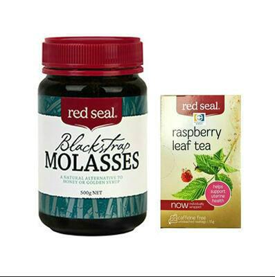 【Pharmacy Direct中文网】Red Seal 红印 覆盆子花草茶20包+Red Seal 红印 黑糖 500g