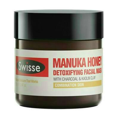 【Pharmacy Direct中文网】Swisse 麦卢卡蜂蜜净化排毒面膜 70g