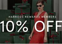 Harrods百货全场额外9折促销正式开启