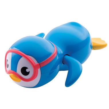 【美国Babyhaven】【用码立减2美金】Munchkin 麦肯奇 游泳企鹅发条浴室玩具 蓝色