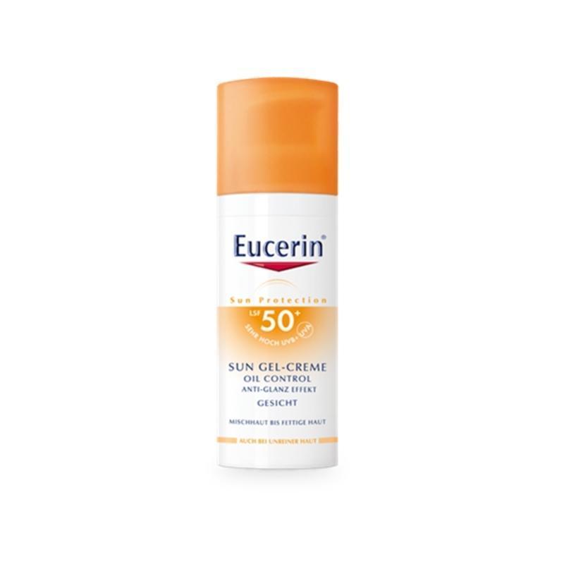 【德国BA】Eucerin 优色林哑光防晒液 LSF50+ 混合/痘痘/敏感肌肤 适用 50ml