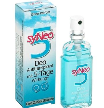 syNeo 长效去狐臭/腋臭/体臭/汗臭净味止汗防过敏喷雾 30ml 喷一次效果长达5天 无香料添加剂 男女均