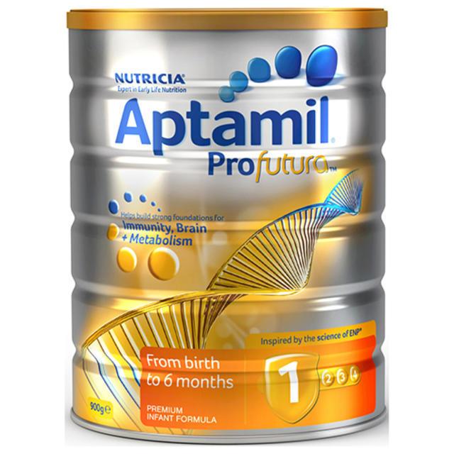 【澳洲Amcal】【限时特价】Aptamil 爱他美 Profutura白金版1段 婴幼儿配方奶粉 900g(可购两罐)