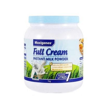 【澳洲RY药房】Maxigenes 美可卓 澳洲蓝胖子奶粉 高钙 成人全脂奶粉1kg
