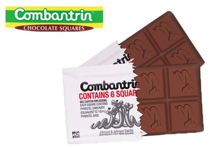 澳洲打虫巧克力怎么吃 combantrin驱虫巧克力的吃法
